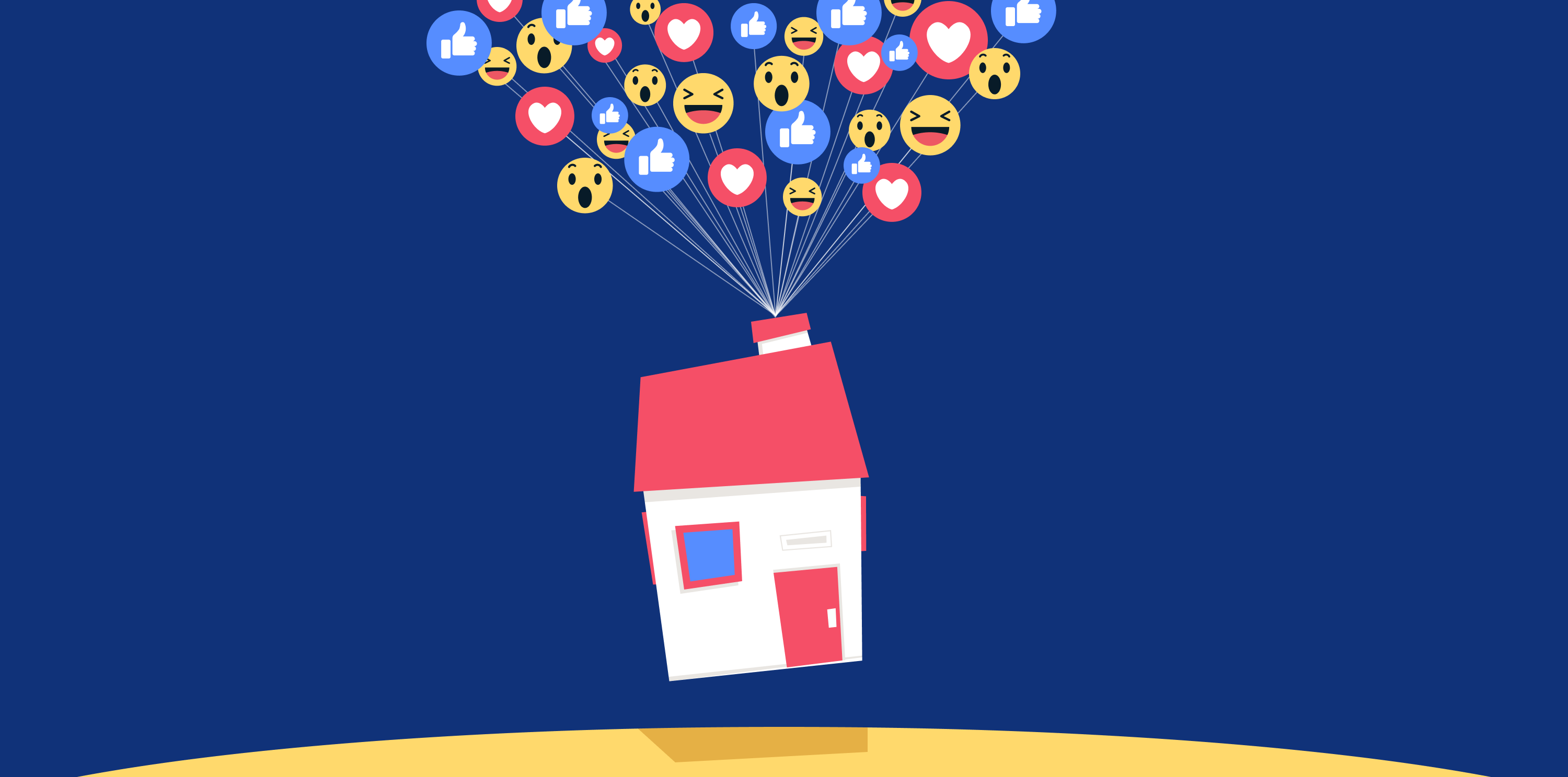 Facebook organic posts boast big real estate benefits